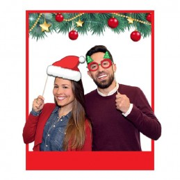 8 PHOTO BOOTH CM 20 BUON NATALE