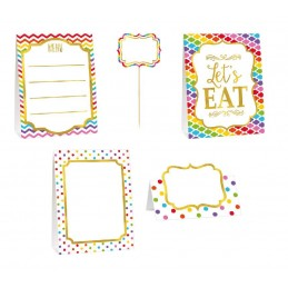 BUFFET DECORATING KIT PAPER...