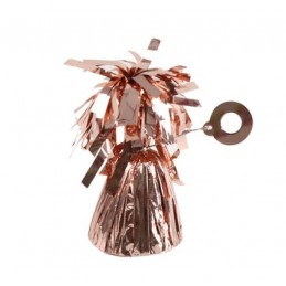 PESETTO PER PALLONCINI ROSE GOLD 170 GR
