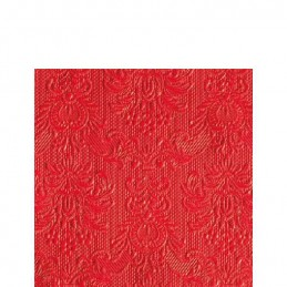 NAPKIN 25 ELEGANCE RED...