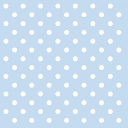 NAPKIN 33 PASTEL DOTS BLUE FSC MIX