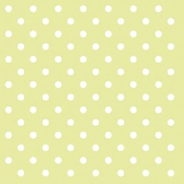 NAPKIN 33  DOTS GREEN FSC MIX