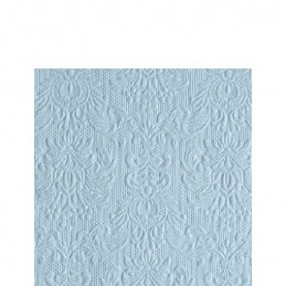 NAPKIN 25 ELEGANCE PALE BLUE MIX