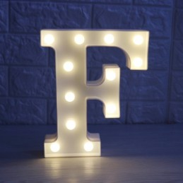 LETTERE CON LUCILED F 16 CM F