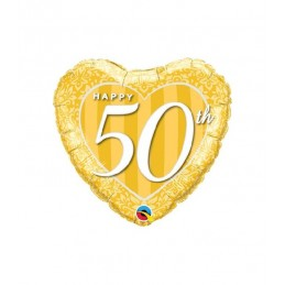 18' HRT HAPPY 50TH GOLD