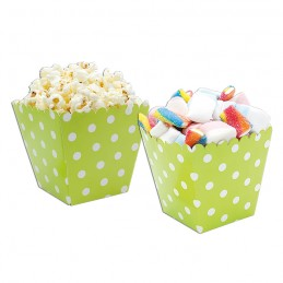 6 Sweety Box Pois Verde...