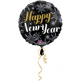 Palloncino tondo Happy New...