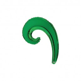 Mylar Kurly Wave Verde Mini...
