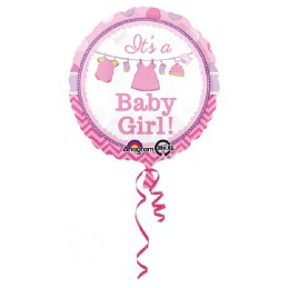 Palloncino It's Baby Girl Rosa