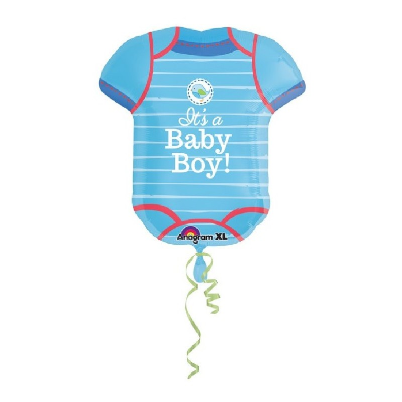 Palloncino Maglia body It's a Baby Boy