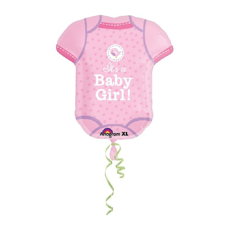 Palloncino Maglia body It's a Baby Girl