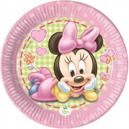 BABY MINNIE PIATTO 18 CM
