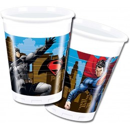 BATMAN VS S/MAN BICCHIERE 8 PZ