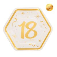 18° COMPLEANNO BIANCO CHIC